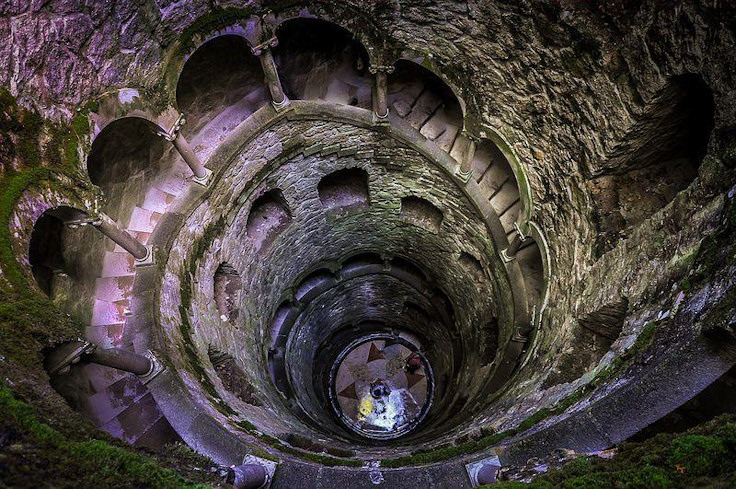 The Inverted Tower of Quinta da Regaleira (Sintra, Portugal)