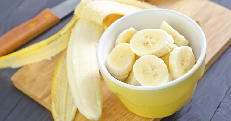 how many bananas in a cup