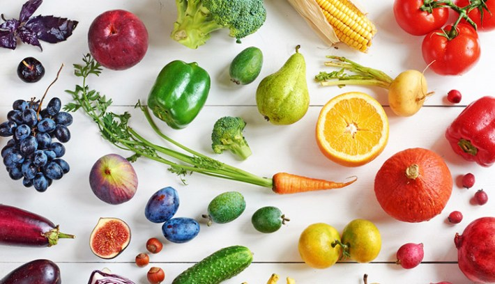the most healthy vegetables and fruits