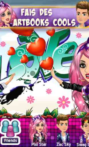 Msp Gloire Fortune Amis : gloire, fortune, MovieStarPlanet, Application, Android, AllBestApps