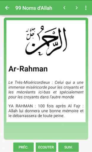 Les 100 Noms D Allah : allah, D'Allah, Application, Android, AllBestApps