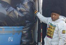 Jadakiss Gives Away Clothing