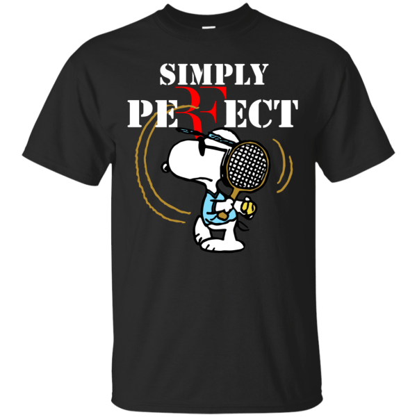Snoopy - Roger Federer Simply Perfect Shirt Hoodie Tank