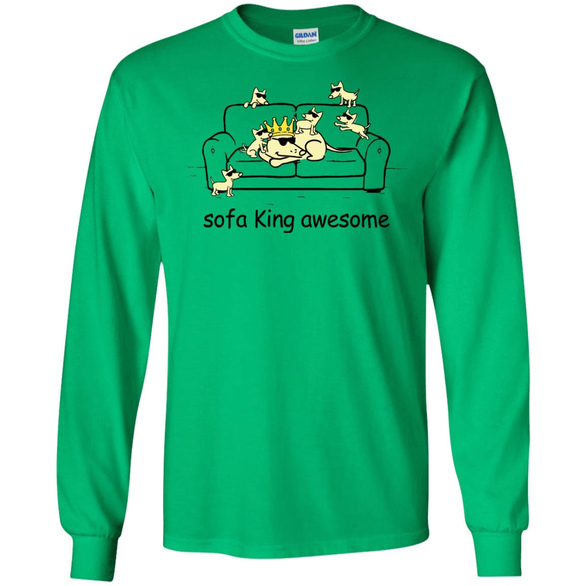 sofa king awesome t shirt support boards uk dogs hoodie allbluetees