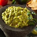 Spicy Lime Onion and Garlic Guacamole