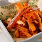 Healthy Sea Salted Yam Fries