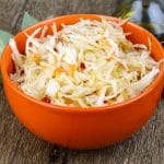Marinated Cabbage Topping