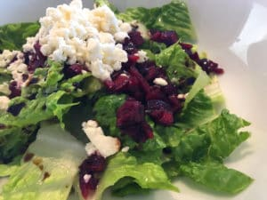 Cherry Romaine Salad