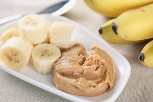Banana and Almond Butter Fit Snack