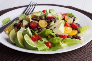 Romaine Black Bean Salad