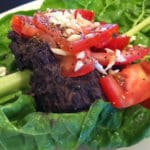 Black Bean Swiss Chard Protein Wraps