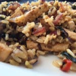 Swiss Chard Brown Rice Stir Fry