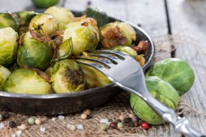 Brussel Sprout and Onion Stir Fry