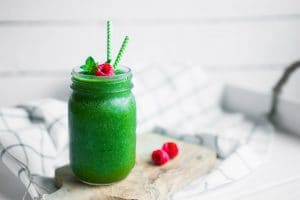 Spirulina Morning Power Shake