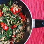 Spicy Kale and Veggie Stir Fry