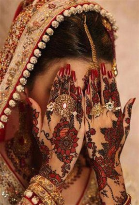 Fancy-Arabic-Indian-Bridal-Mehndi-Designs-of-2014-1