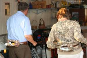 This is one of the best laugh's at a recent family reunion, Mom & Dad competing in a Minute to Win It challenge! :)