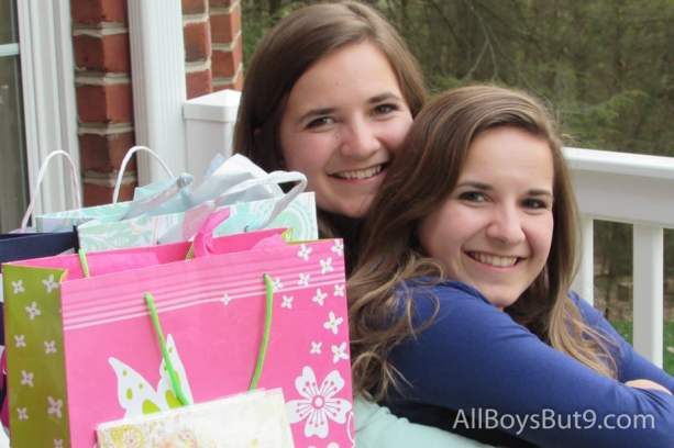 Emily and Anna turn 19 together