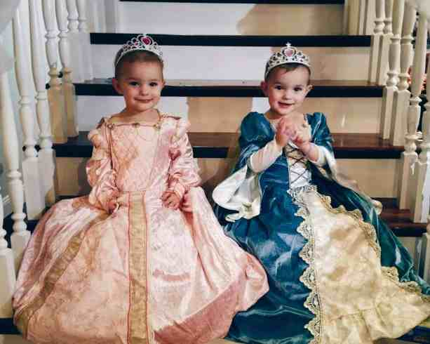 Princess Sarah and Princess Addie turning 3!