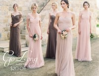 Go Long with Jenny Yoo Bridesmaids - All Brides Beautiful