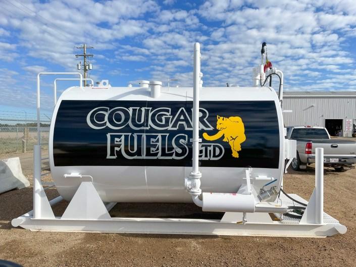 cougar fuel - new sign