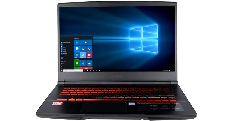 MSI CUK GF63 8RD - Best Gaming Laptops Under 1000 Dollars