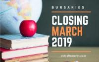 Bursaries Closing in March 2019
