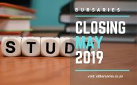 South Africa Bursaries Closing in May 2019