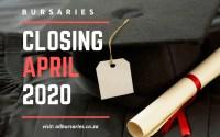 Bursaries Closing in April 2020