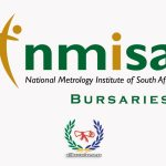 National Metrology Institute of South Africa / NMISA bursary application form and application process.