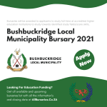 Bushbuckridge Local Municipality Bursary 2021