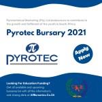 Pyrotec Bursary 2021