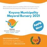 Knysna Municipality Mayoral Bursary