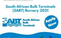 South African Bulk Terminals (SABT) Bursary