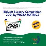 Bidvest Bursaries 2021 by WOZA Matrics