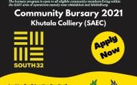 Community Bursary Khutala (SAEC)