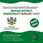Mopani District Municipality Bursary