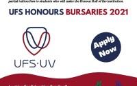 UFS Honours Bursaries