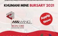 Khumani Mine Bursary Programme