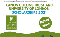 Canon Collins Trust and University of London LLM Scholarships