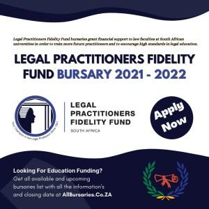 Legal Practitioners Fidelity Fund Bursary