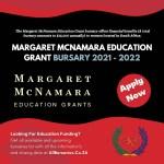 Margaret McNamara Education Grant Bursary