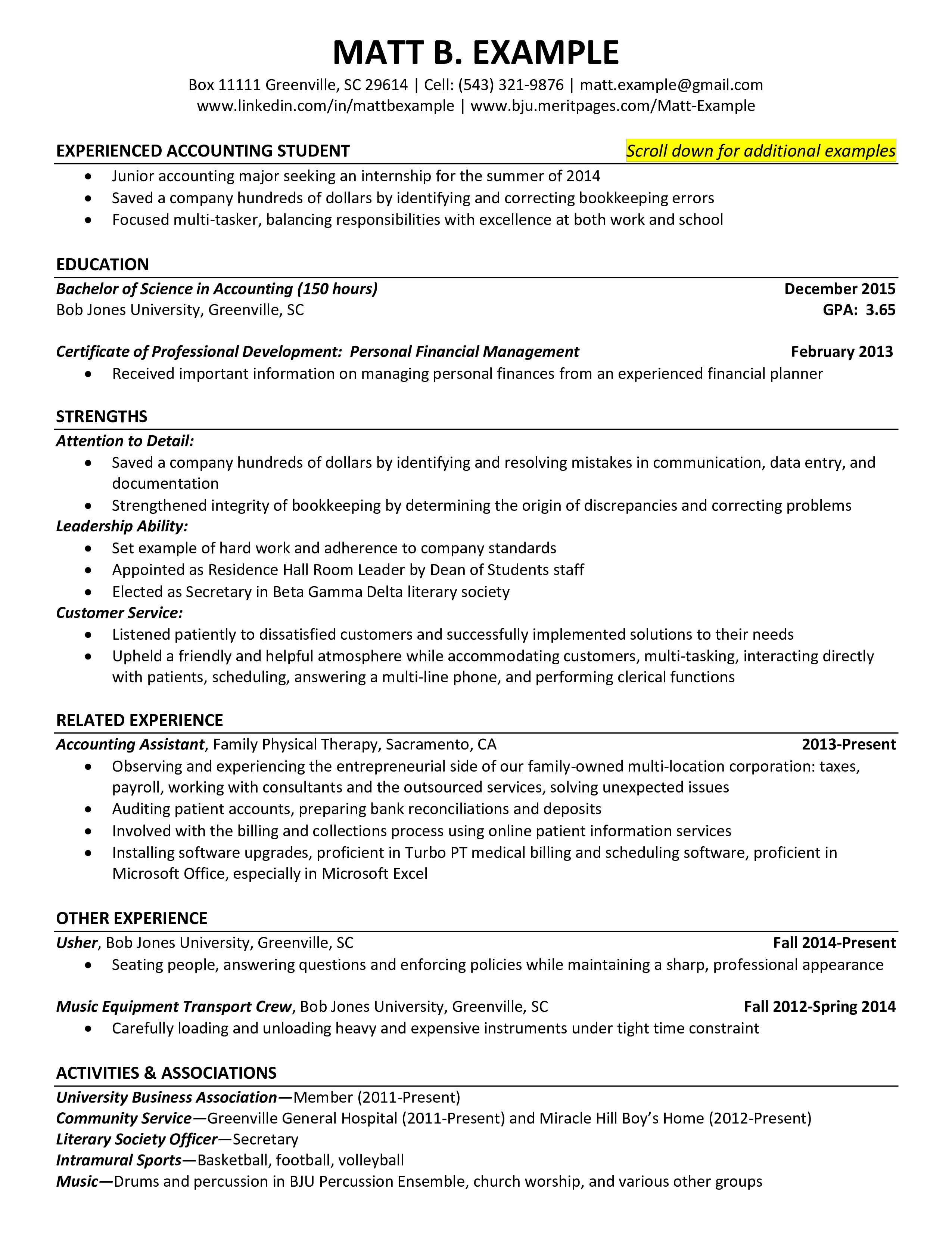 Resume Templates Accounting Free Project Accountant Resume Templates At