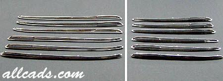 chrome-spears