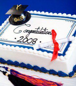 giant eagle graduatuation cake
