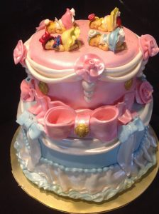 Disney Baby Shower Cakes