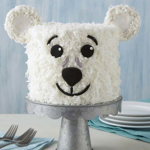 Just Like Wilton You Too Can Celebrate Winter With An Incredible Polar Bear Cake
