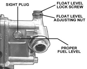 Holley Float level