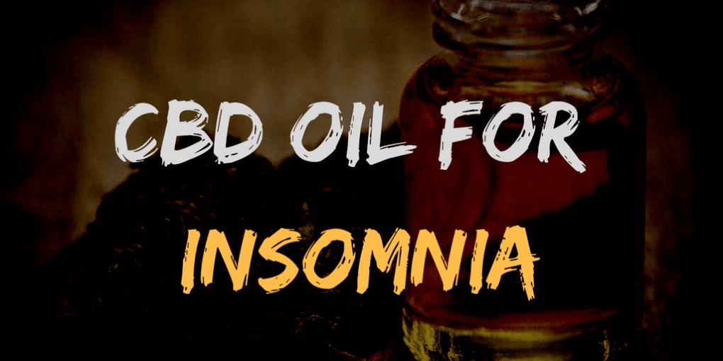 the best cbd oil for insomnia