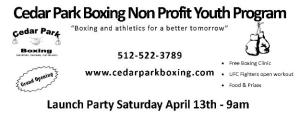 Cedar Park Boxing Club (512) 522-3789